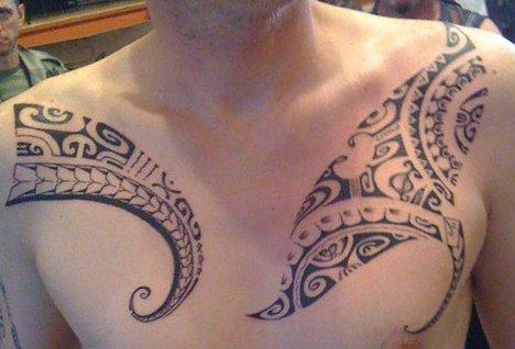 photos et models de tattoo polynesien. Black Bedroom Furniture Sets. Home Design Ideas